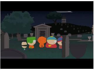 South Park : Удаленная сцена на кладбище M.J